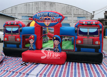 Giant Rescue Squad inflatable Amusemenet Park Playground For kids Outdoor fun