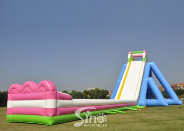 10m High Giant Inflatable Hippo Water Slide For Adult From China Inflatable Manufacturer
