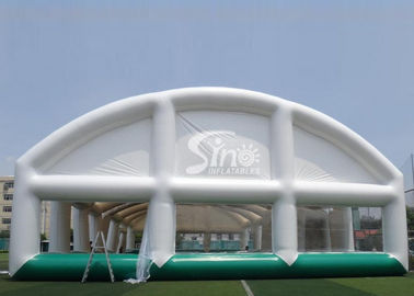 China Giant Sports Arena Air Sealed Inflatable Tent Stadium With Roll Up Doors supplier
