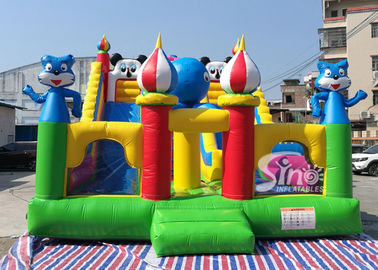Commercial Grade Backyard Gaint Inflatable Dry Slide For Kids Fun