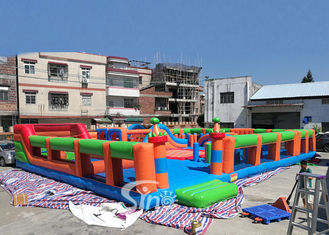 The big bounce kids and adults blow up inflatable theme park for indoor inflatable playground fun