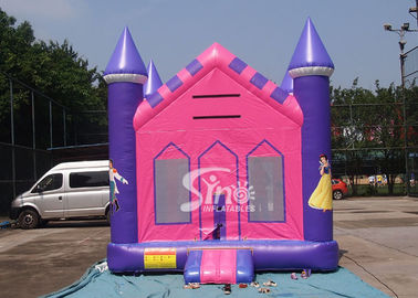 China 13x13 outdoor kids party Princess Inflatable Bounce House with 18 OZ PVC Tarpaulin supplier