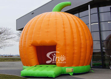 Halloween Inflatables Giant Pumpkin Kids Bounce House Double for outdoor party