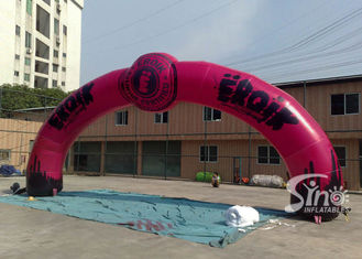 Outdoor custom design advertising Inflatable Entrance Arch with Logo fully digitally printed