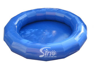 5m dia. small round kids inflatable swimming pool for backyard family water fun