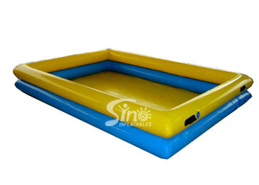 8x6m double rail children N adults big inflatable swimming pool for water fun equipment