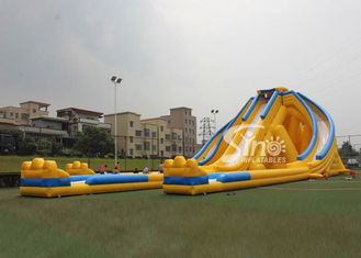 12m high 3 lanes giant inflatable hippo water slide for adults and kids outdoor inflatable water park fun