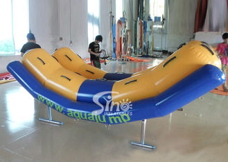 China 4 persons inflatable seesaw water toys for kids and adults water park adventure supplier