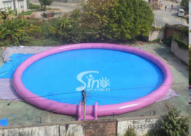 20m dia. outdoor giant inflatable water swimming pool for kids N adults water park entertainment