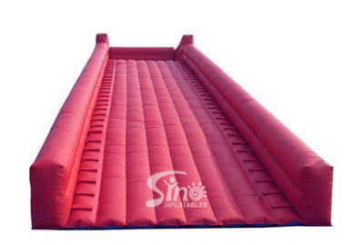 China Commercial grade giant steep inflatable zorb ball ramp slope for zorb ball rolling supplier