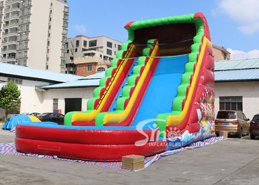 8 meters high custom design inflatable pirate water slide with digital printing from China factory