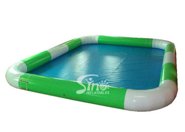 Outdoor Commercial Inflatable Water Pools with Handing Painting Or Silk Printing
