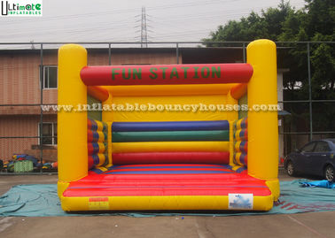 China Little Kids Jumping Castles / Commercial Grade Bounce Houses for Advertisement supplier