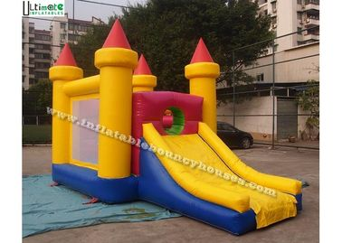 China Commercial Grade Inflatable Games Mini Bounce House With Slide For Children supplier