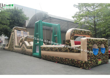 China Boot Camp Inflatable Obstacle Course For Adults Energy Challenge supplier