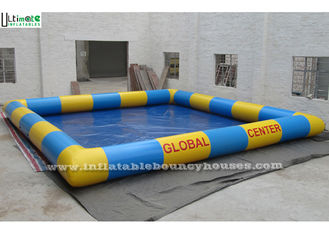 China Big Inflatable Water Pools / Kids Large Inflatable Swimming Pool Custom Made supplier