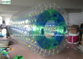 China 2.8M Long TPU Body Zorbing Bubble Ball Walk On Water Inflatable Ball supplier