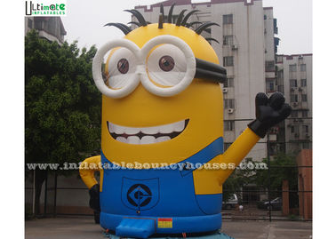 China Despicable Me Pop Minion Inflatable Bouncer Outdoor Bounce House With Digital Printing supplier