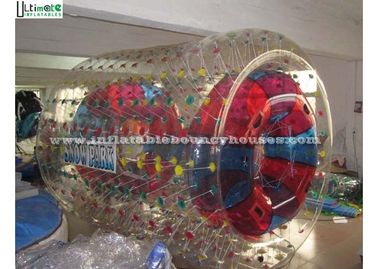 Polyether TPU Or PVC Inflatable Zorb Balls Roller / Inflatable Balls You Can Get Inside