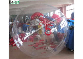 China TPU Inflatable Water Ball With Number For Walking On Water , Water Roller Ball supplier