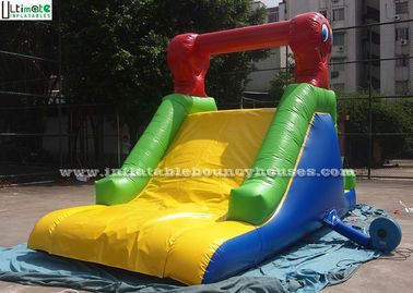 Custom Made Indoor Mini Commercial Inflatable Slides / Caterpillar Inflatable for Pool