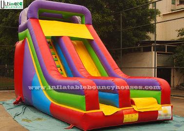 China Children Party Toboganes Juegos Inflables Made Of 18 OZ PVC Tarpaulin supplier