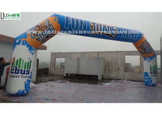 Outdoor Advertising Inflatable Arches Made Of 1st Class PVC Tarpaulin