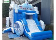 China Large Frozen Princess Happy Hop Jumping Castle PVC Tarpaulin factory