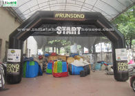 China Commercial Airtight Advertising Inflatable Arches With Removable Velcro Logo factory