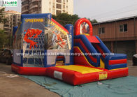 China EN14960 Spiderman Bounceland Bounce House Commercial Grade Vinyl factory