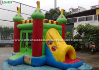 China 3 In 1 Outdoor Kids Bounce House Commercial Grade Tunnel Slide factory