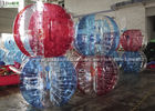 China Custom PVC TPU Inflatable Body Balls , Large Round Kids Loopy Balls factory