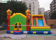China Commercial Inflatable Jumping Castles Slide For Family Park Use factory