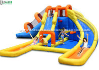 China Children Inflatable Water Jumping Castle Attractive Fire Retardant EN14960 factory