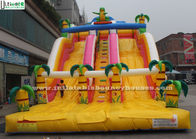 China Giant Commercial Inflatable Slides Water Proof Jungle Theme Inflatables For Adults factory