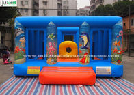 China Durable Blue Kids Inflatable Jumper Flame Retardant For Indoor Use factory