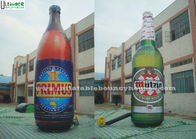 China Giant Outside Advertising Inflatables Full Printing Inflatable Bottle factory