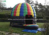 China Colorful Outdoor Inflatable Party Tent Disco Dome Bouncy Castle EN14960 factory