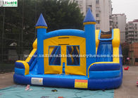 China Commercial Kids Water Inflatable Bounce Houses With Slides N Pool factory