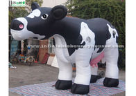 China Huge Inflatable Milk Cow Model PVC Coated Nylon Durable For Advertising factory