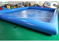 China Blue Seaworld Inflatable Swimming Pool Large Digital Printing For Family factory
