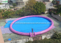 China Giant Round Inflatable Swimming Pool For Kids N Adults Water Parks Fun factory