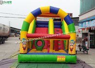 China Clown Commercial Inflatable Slides Printing Inflatable Backyard Water Slide factory