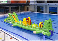China Custom Alligator Inflatable Water Toys Aqua Game For Children In Swimming Pool factory