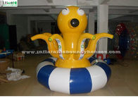 Custom Shape Octopus Inflatable Water Toys Spinner Trampoline