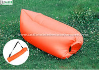 China 2.6M Long Portable Air Couch Inflatable Air Sofa With 100% Nylon Ripstop factory