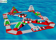China Adults Entertainment Inflatable Water Toys Floating Inflatable Aqua Fun Park factory