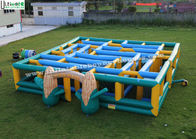 China 12m X 12m Giant Inflatable Games Corn Maze Race Game For Outdoor Events factory