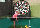 China Kids And Adults Giant Inflatable Golf Dart Boards With Velcro Balls factory