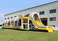 China 24m long big challenge adults inflatable obstacle course for boot camp or keeping fit made in Sino Inflatables company